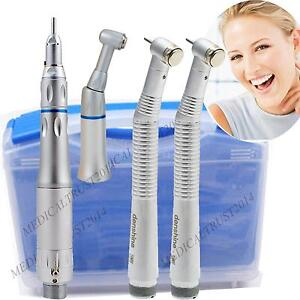 a 2 High Speed Fast Push Slow Low Speed Dental Handpiece Kit 2 Hole A Turbine