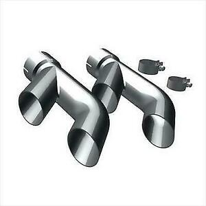 Magnaflow 35218 Universal 2 25 Round Stainless Clamp On Exhaust Tip