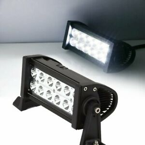 1 36w High Power Led Work Light Bar For Off road 4x4 Truck Suv Jeep Boat Atv