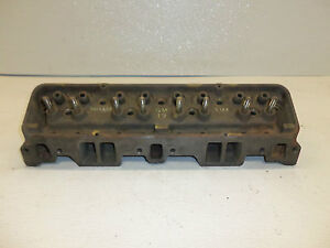 1962 62 Chevy 283 Engine Motor Cylinder Head
