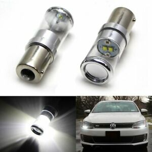 Hid White Error Free Cree Led Bulbs For 2011 Volkswagen Jetta Daytime Drl Light