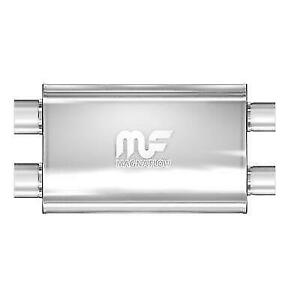 Magnaflow 12569 Universal 5 X11 Oval Dual Stainless Steel Performance Muffler