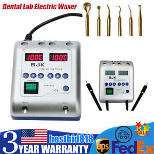 Dental Lab Electric Wax Waxer Carving Pen Pencil Carver With 6 Tips Laboratory