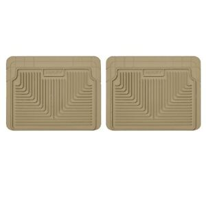 Husky Liners 52023 Tan Heavy Duty Second Or 3rd Seat Floor Liners For Impreza