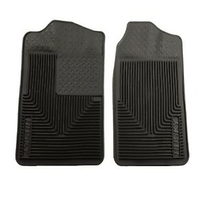 Husky Liners 51011 Black Heavy Duty Front Floor Mats For Chevy Gmc Cadillac