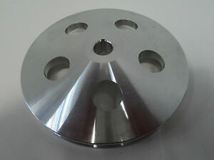 Gm Aluminum Power Steering Pump Pulley Keyway Sbc Bbc Chevy Olds Pontiac 350 4