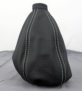 Nardi Gear Shift Shifter Boot Black Leather With Grey Stitching 3600 01 0000