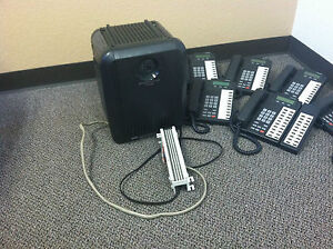 Cix100 full Small Buisness Phone System 8 Phones Included up To 16 Plug And Play