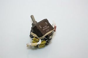 Aircraft Eaton Toggle Switch 4pdt 8502k4 Ms24525 23 On None On on On
