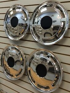 New 1985 1996 Chevrolet Caprice Police Taxi Car 15 Hubcaps Wheelcovers Set Of 4
