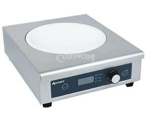 Adcraft Wok Induction Cooker Glass Stainless Steel Commercial Ind wok208v