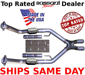 Bassani Bx Power X Crossover Bx46052 Mustang Gt2005 2009 4 6l 5 Speed New