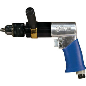 Astro Pneumatic 1 2 Extra Heavy Duty Reversible Air Drill 500rpm 527c