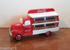 Dept 56 Snow Village Coca-Cola Delivery Truck #54798 NIB SEE DESCRIPTION Y241