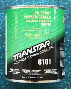 Transtar 2k Epoxy White Primer Sealer 6101 Gallon