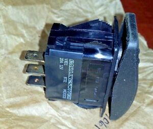 308 1061 Onan Start Stop Rocker Switch Carling 12 Volt 20 Amp New