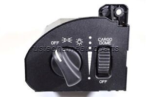 Headlight Headlamp Switch With Cargo Light Without Fog Lights For Dodge