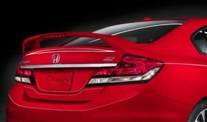 New Painted Fits Honda Civic Si 4dr 2013 2014 2015 Spoiler Wing New All Colors