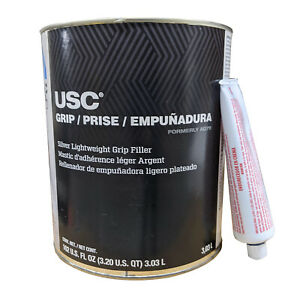 1 Gallon Usc Ag47 Lightweight Grip Metal Auto Body Filler With Hardener 17000