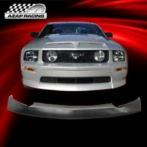 2005 06 07 08 09 Cervini Style Pu Front Bumper Lip Spoiler Fits Ford Mustang V8