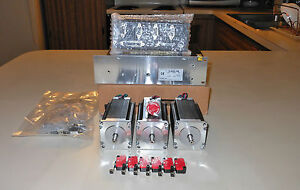 Gecko G540 Rev 8 Mach3 Full License 48v 12 5a 3 Nema 300oz Motors