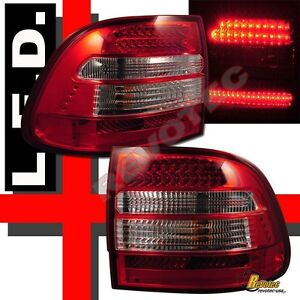 03 04 05 06 Porsche Cayenne S turbo Red Led Tail Lights Lamps 1 Pair