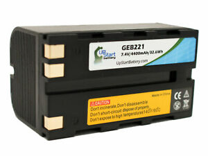 Geb221 Battery For Leica Piper 200 Tc1200 Gps1200 Series Tps1200 Series