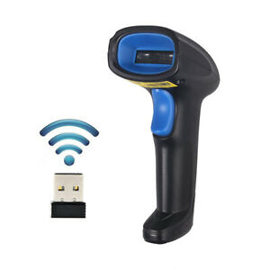 Wireless Cordless Laser Barcode Bar Code Scanner For Wholesale Inventory Scan