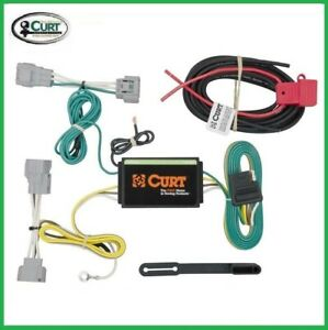 Fits 2014 2018 Jeep Cherokee Curt Trailer Hitch Tow Wiring T Connector 56208