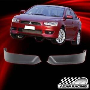 08 14 Oe Style Pp Front Bumper Lip Spoiler Bodykit Fits Mitsubishi Lancer