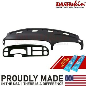 Molded Abs Dash Cover Skin Cap W Bezel Cover Agate Grey Az 99 00 01 Dodge Ram