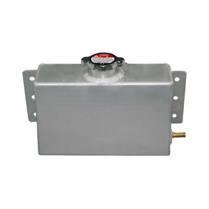 Universal Aluminum Coolant Expansion Fill Tank For Civic