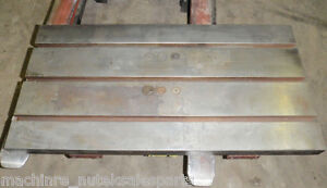 39 5 X 20 Steel Welding T slotted Table Cast Iron Layout Plate T slot