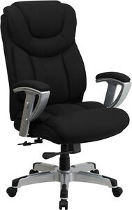 Heavy Duty 400 Lb Capacity Office Chair With Lumbar Support 2 Year Warranty