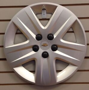 2010 2011 17 Chevy Impala Wheelcover Hubcap Silver Bolt On Factory Original