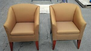 Bernhardt Lounge Or Reception Area Chairs Very Nice We Deliever Locally Nor Ca