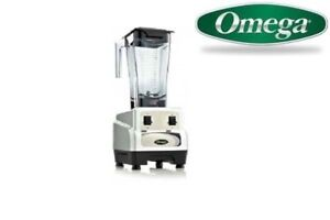 Omega 420 3hp Blender With On off High low Bl420silver