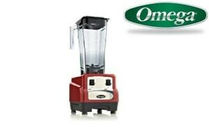 Omega 430 3hp Blender With On off High low Bl430red