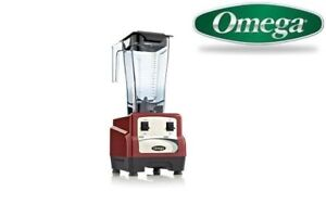 Omega 420 3hp Blender With On off High low Bl420red