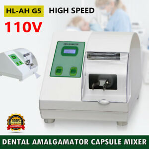 Dental Hi speed Amalgamator Amalgam Capsule Mixer Blender Lab Equipment 110v Usa