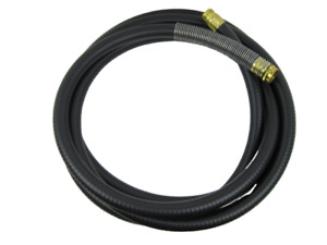 Hvlp 15 Black Turbine Air Hose W Spring Guard