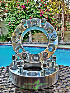 2 Chevy Gmc Cadillac Wheel Spacers 6x5 5 3 Inch 75mm Fits Most 6 Lug