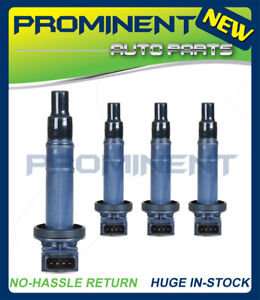 Pack 4 Ignition Coil Uf316 For 00 08 Toyota Scion Various Vehicles 1 5l C1304