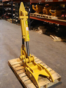 New 12 X 35 Heavy Duty Hydraulic Thumb For Backhoe