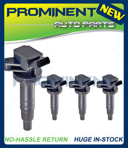 4 Ignition Coils Uf247 Replacement For Toyota Celica Chevy Prizm Pontiac 1 8l