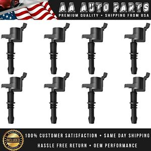 Pack 8 Ignition Coils Fd508 For 2004 2008 Ford F 150 Expedition 4 6l 5 4l Dg511