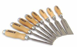New Narex made In Czech Republic 8 Pc 6 8 10 12 16 20 26 32 Mm Chisels