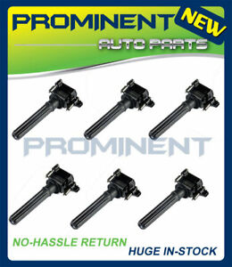 Pack 6 Ignition Coils For 1998 2005 Chrysler 300 300m Dodge Plymouth V6 Uf269