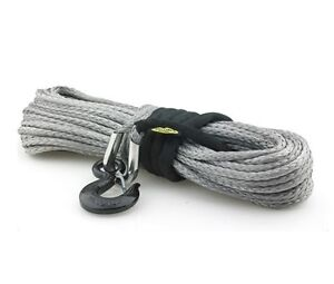 Synthetic Winch Rope 10000 Lb W Hook Sleeve