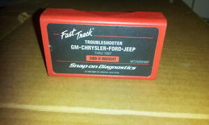 Snap on Scanner 1997 Domestic Fasttrack Troubleshooter Cartridge